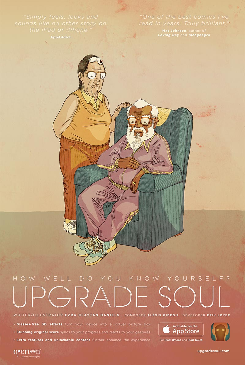 Upgrade Soul Ezra Claytan Daniels interactive comic