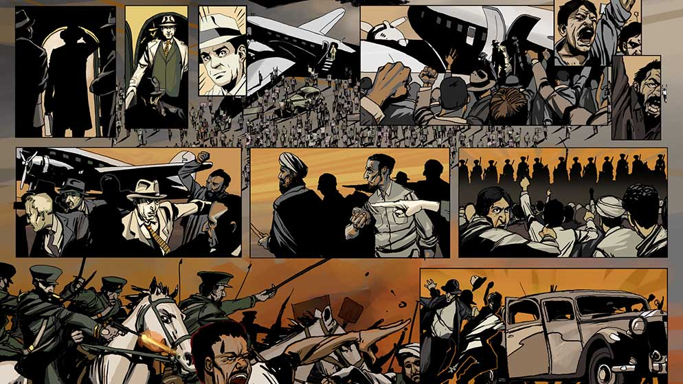 Operation Ajax interactive non fiction graphic novel
