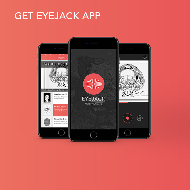Eyejack Augmented Reality App