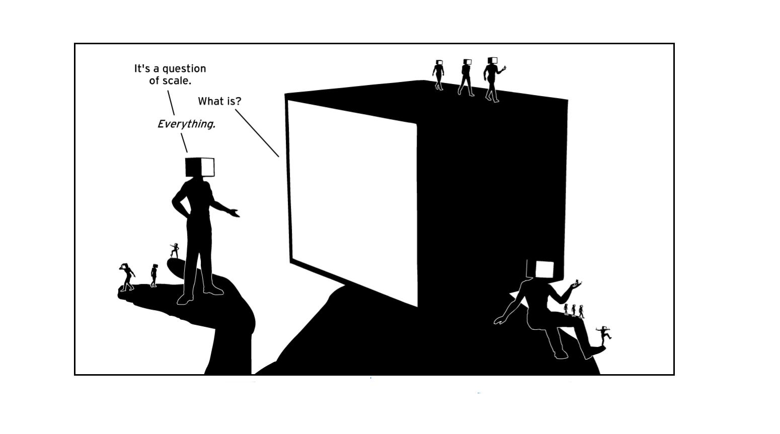 Interactive Infinite Canvas Webcomics by Daniel Goodbrey