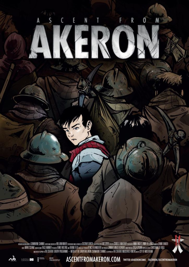Ascent from Akeron motion comic