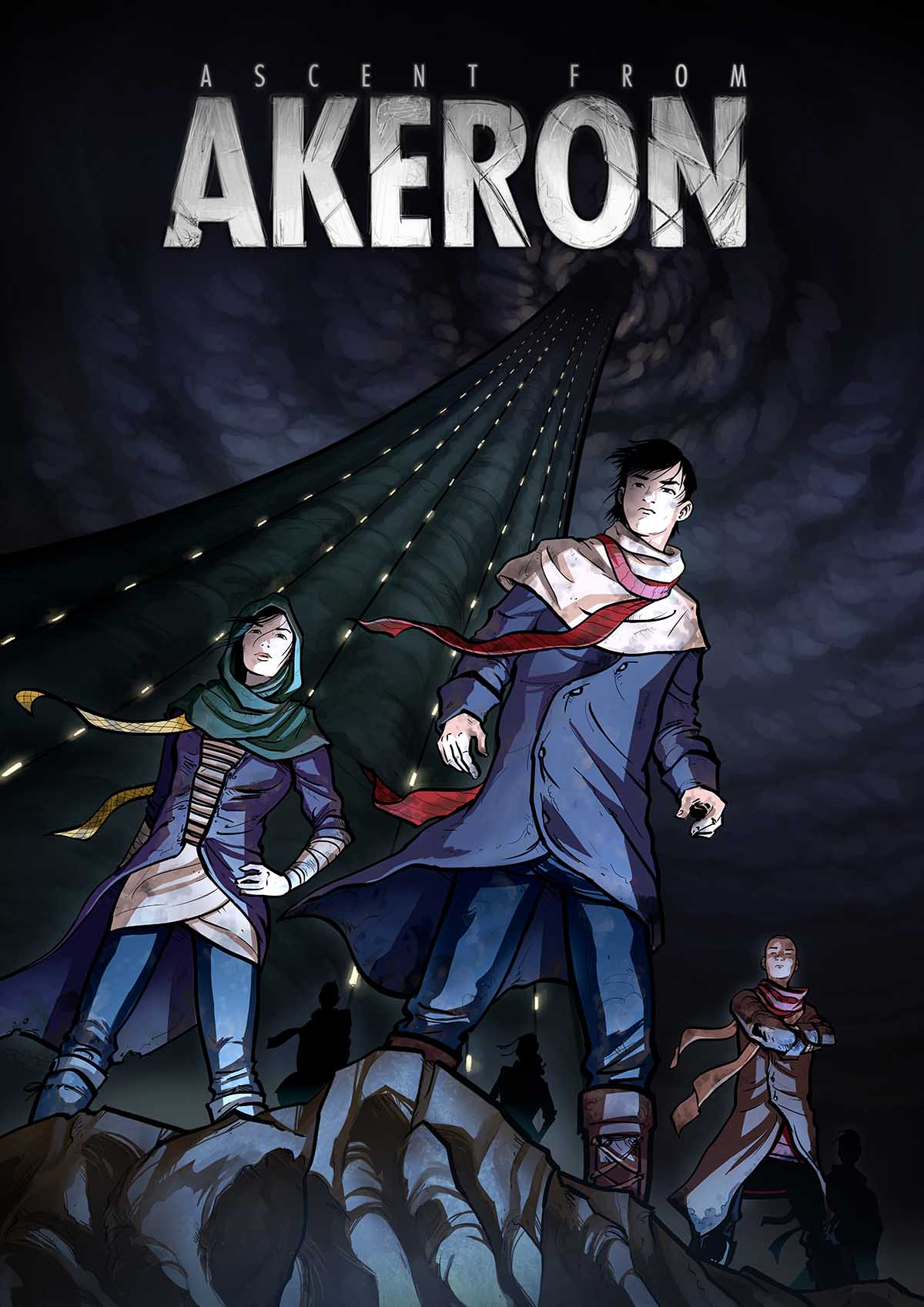 Ascent from Akeron interactive motion comic - Screendiver